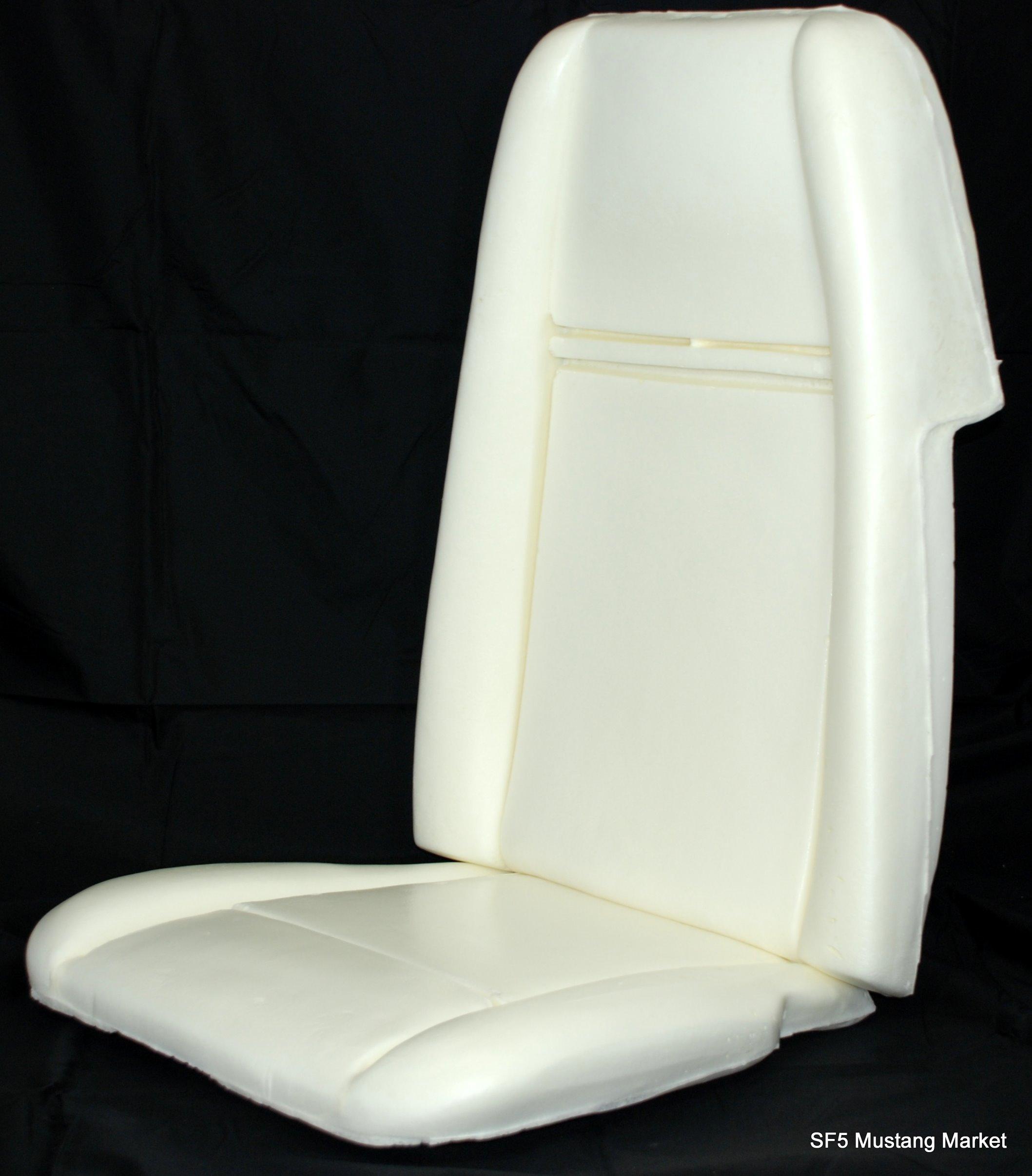 1969-70 Mach 1 hi back Seat Foam made by Mustang Market